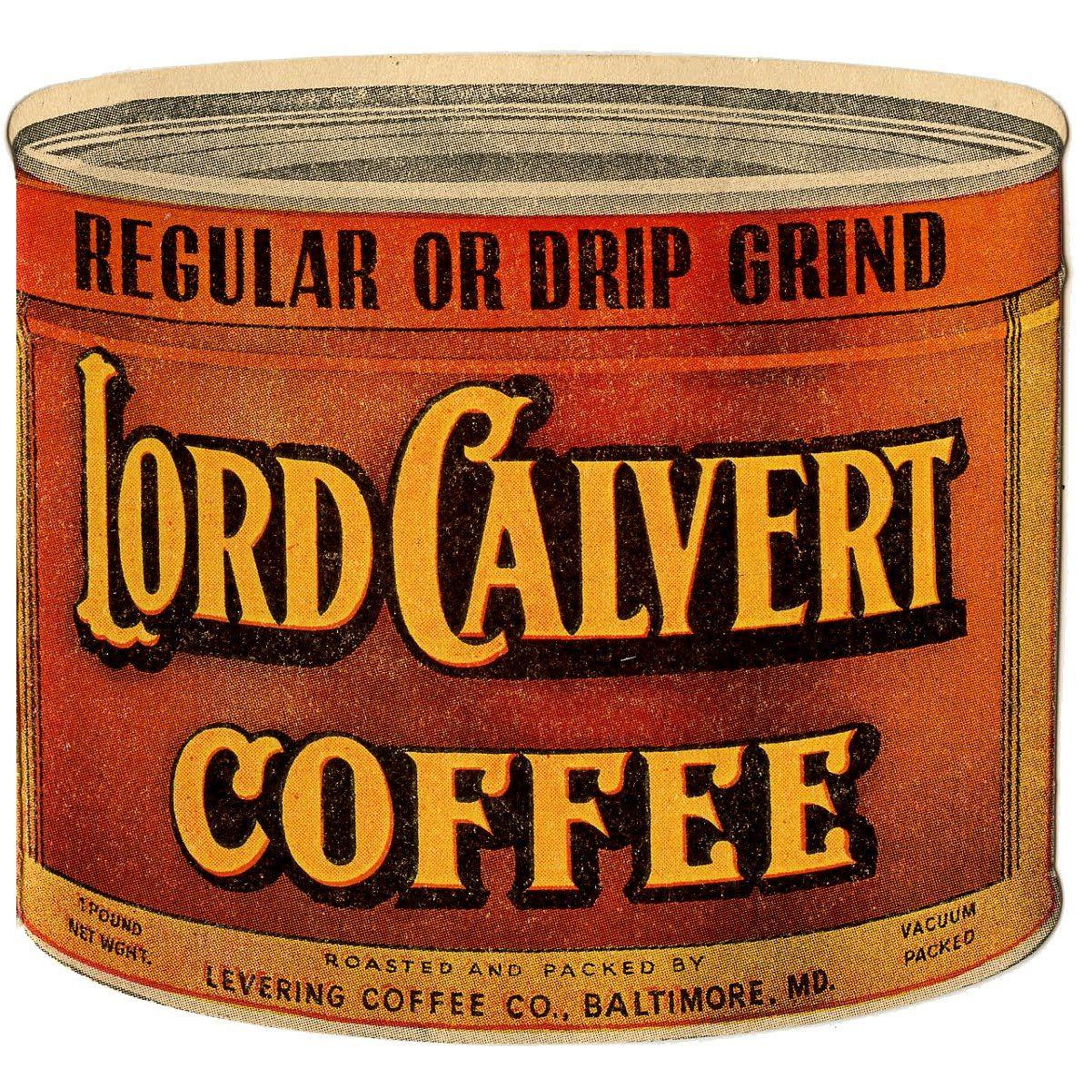 Vintage Clip Art Coffee & Tea Coffee advertising