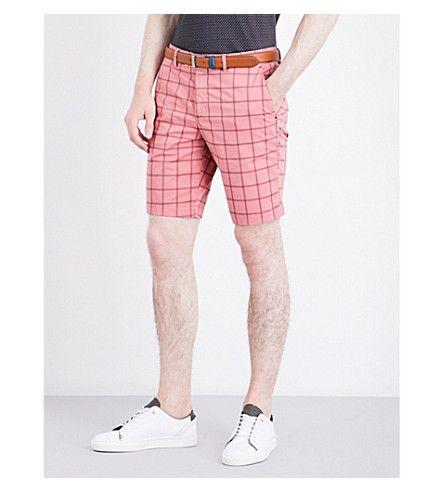 TED BAKER Golfshr stretch-cotton shorts. #tedbaker #cloth #