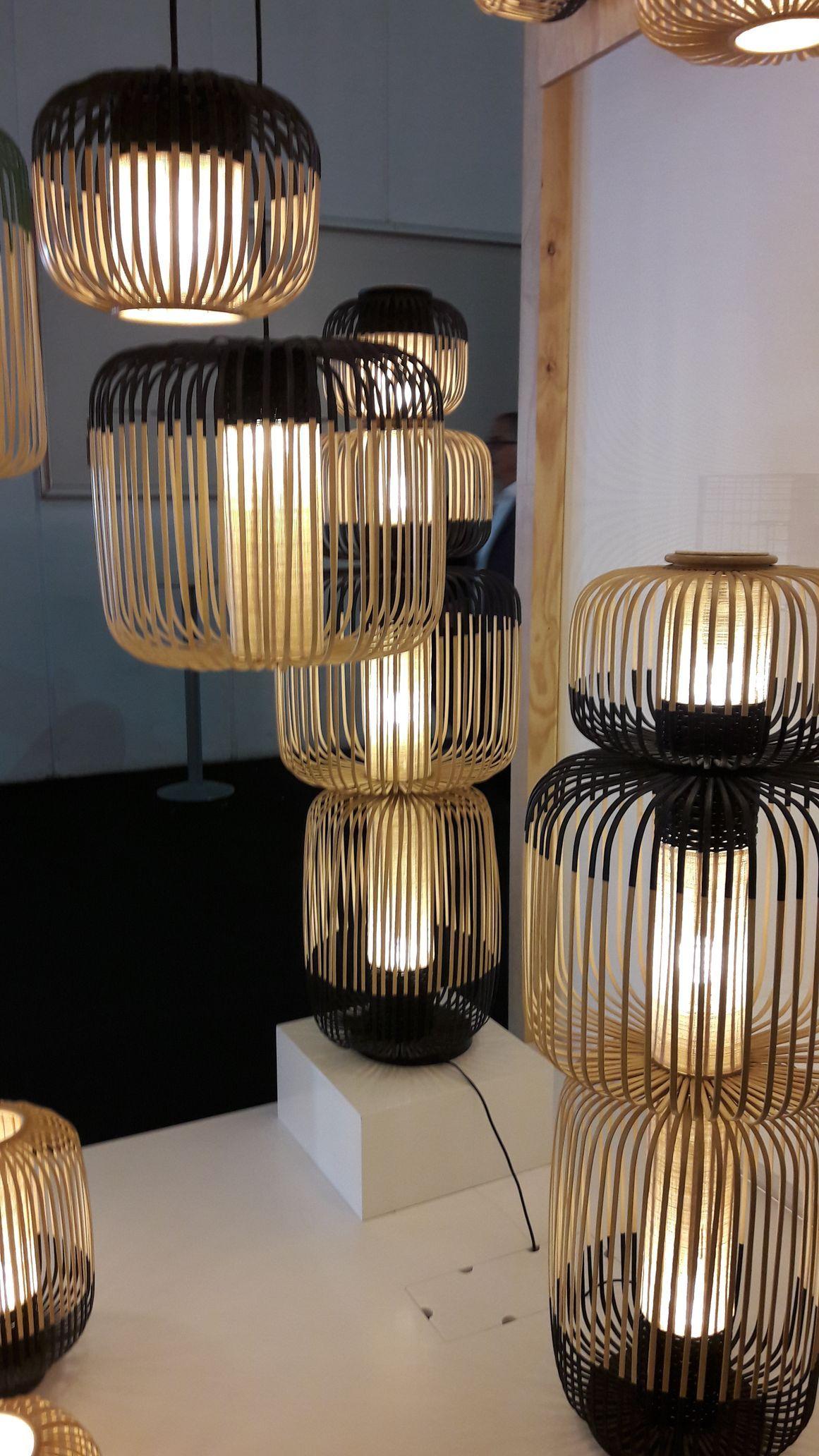 Repérage nouvelles tendances lumi¨re luminaire éclairage au Salon