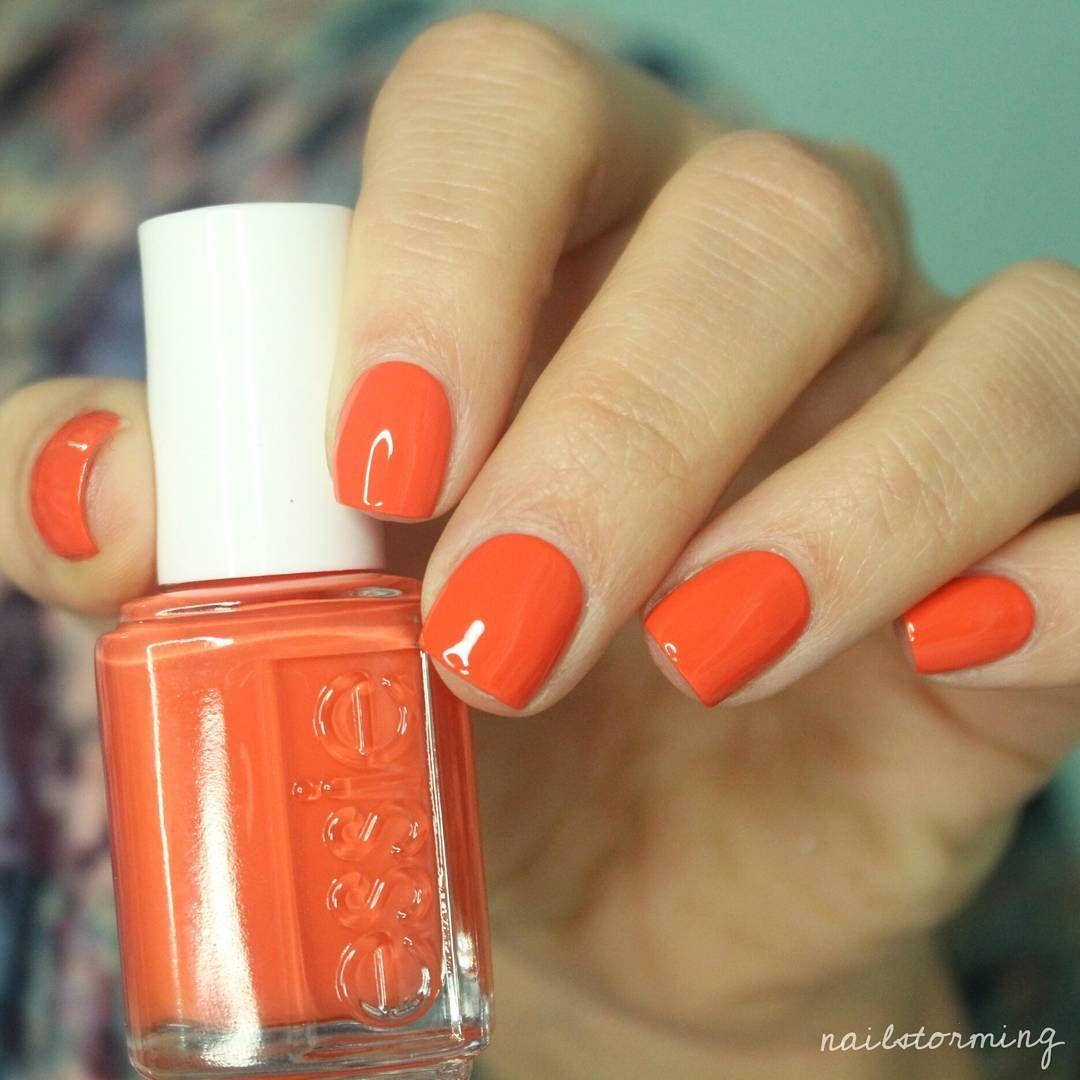 Essie Sunshine State Of Mind Orange Nail Polish Nail Polish