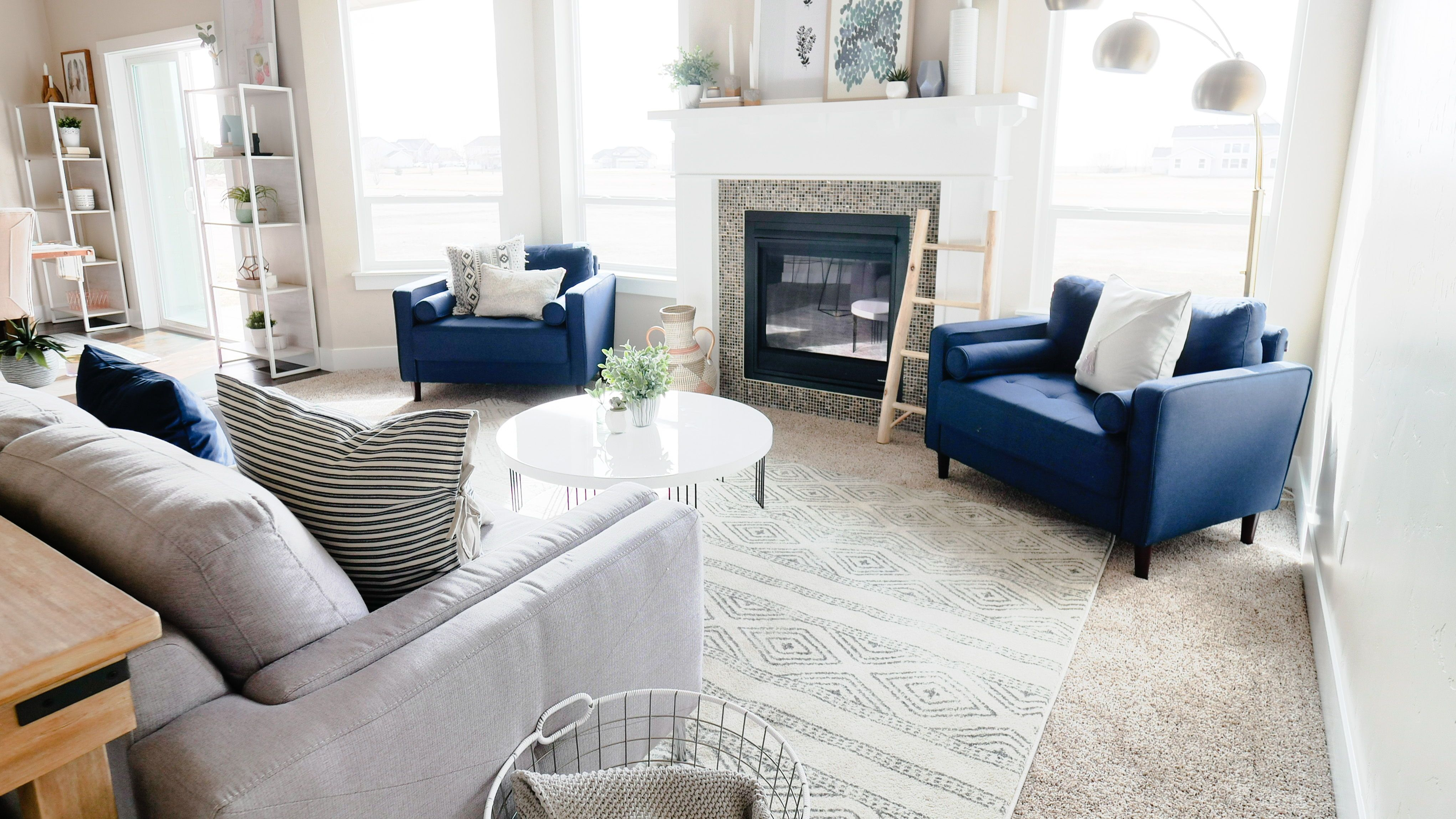 How to Pick a Rug Size You want the front legs of the