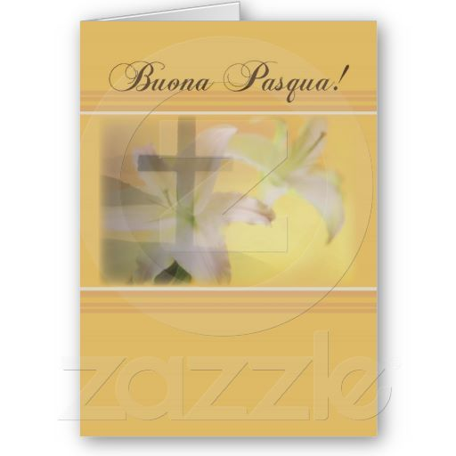 Italian happy easter yellow buona pasqua greeting card easter italian happy easter yellow buona pasqua greeting card m4hsunfo