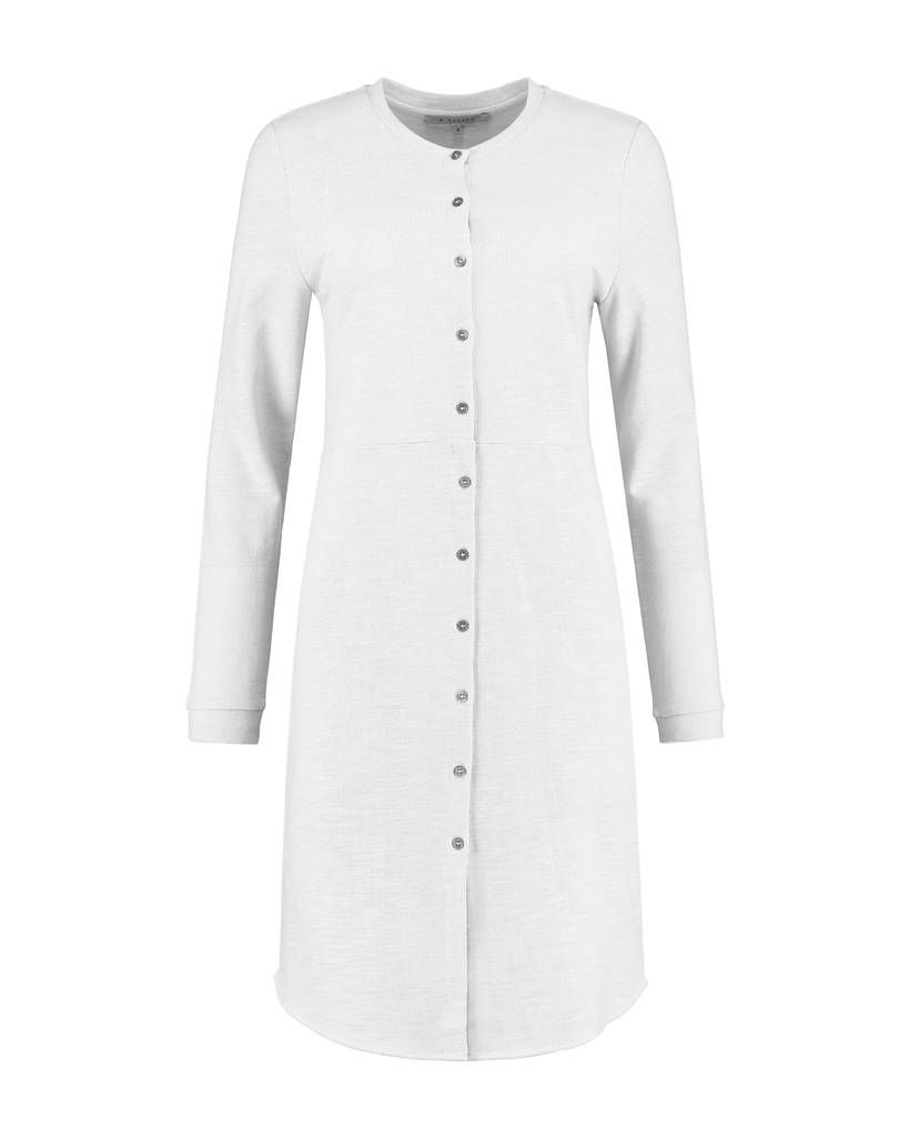 lange blouse als jurk