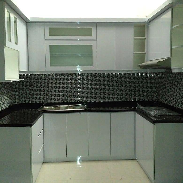 Kitchen Set Aluminium Terbaru Dapur Minimalis Idaman Pinterest