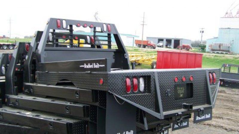 Bradford Built 84 X 102 Steel Truck Bed In Truck Beds Custom Truck Beds Truck Bed Trucks