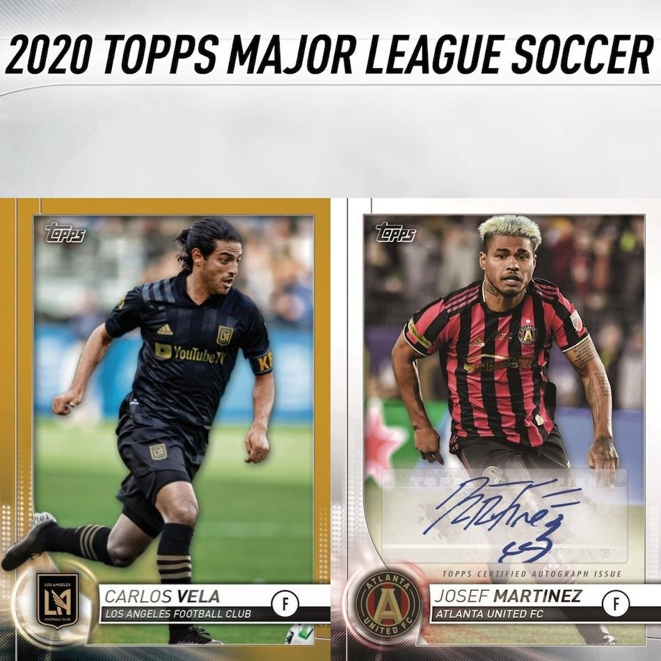 2020 Topps Mls Soccer Checklist Set Info Buy Boxes Date Reviews In 2020 Major League Soccer Soccer Cards Mls Soccer