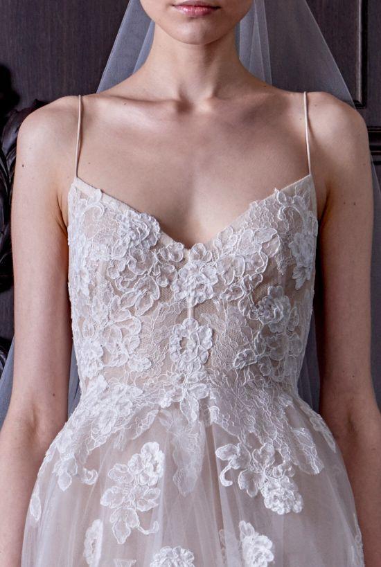 See the entire Monique Lhuillier 2016 Bridal Collection here http://static.weddingchicks.com/monique-lhuillier-2016-bridal-collection/