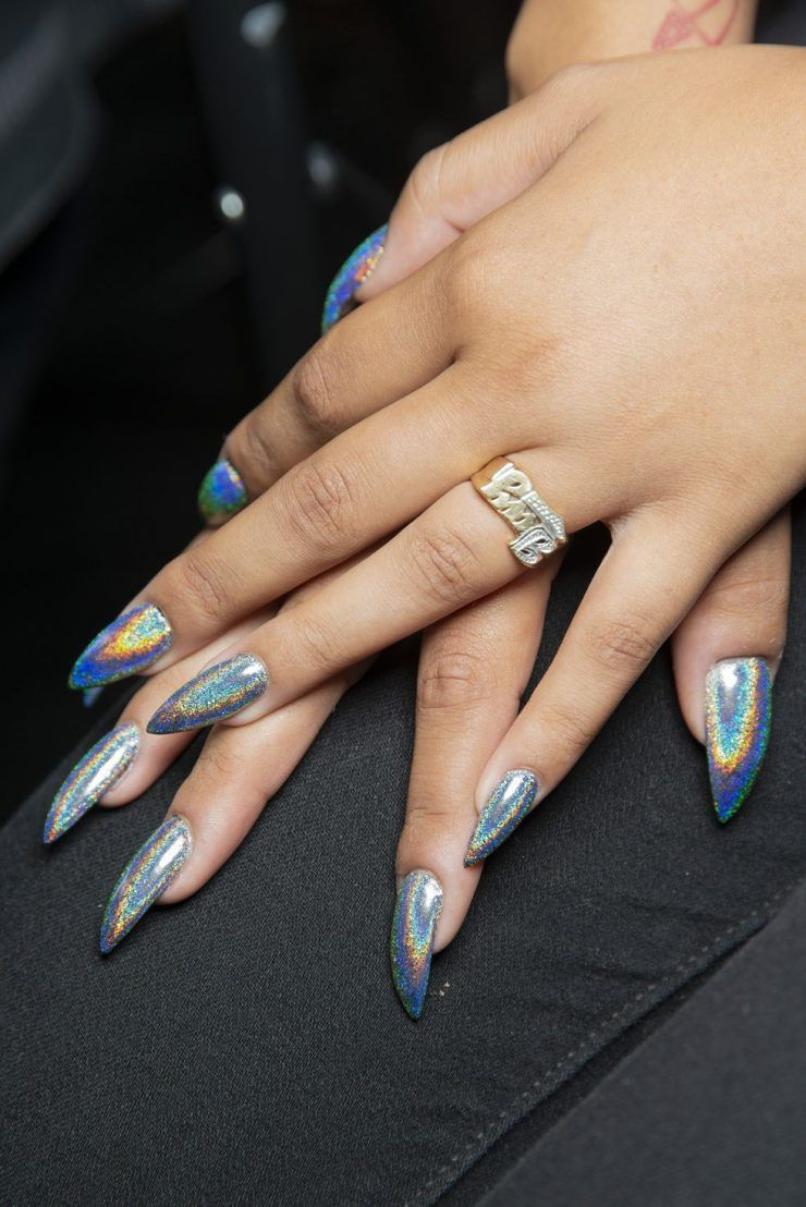 Spring 2019 Nail Trends We Can't Wait to Wear Stiletto