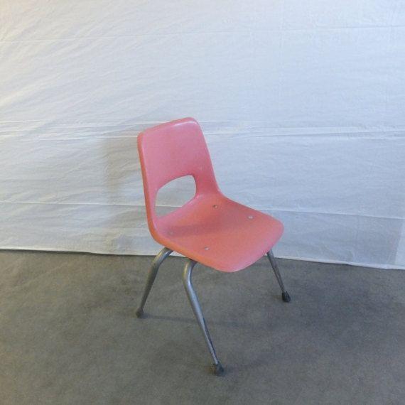 Vintage Brunswick Seating Hard Plastic School Desk Chair ...