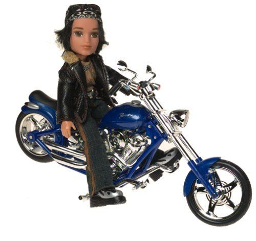 Bratz Motorcycle Style Vehicle With Cade Doll By Mga Entertainment 58 72 Amazon Com Cade Is One Of The Motorcycle Style Funky Outfits Dolls