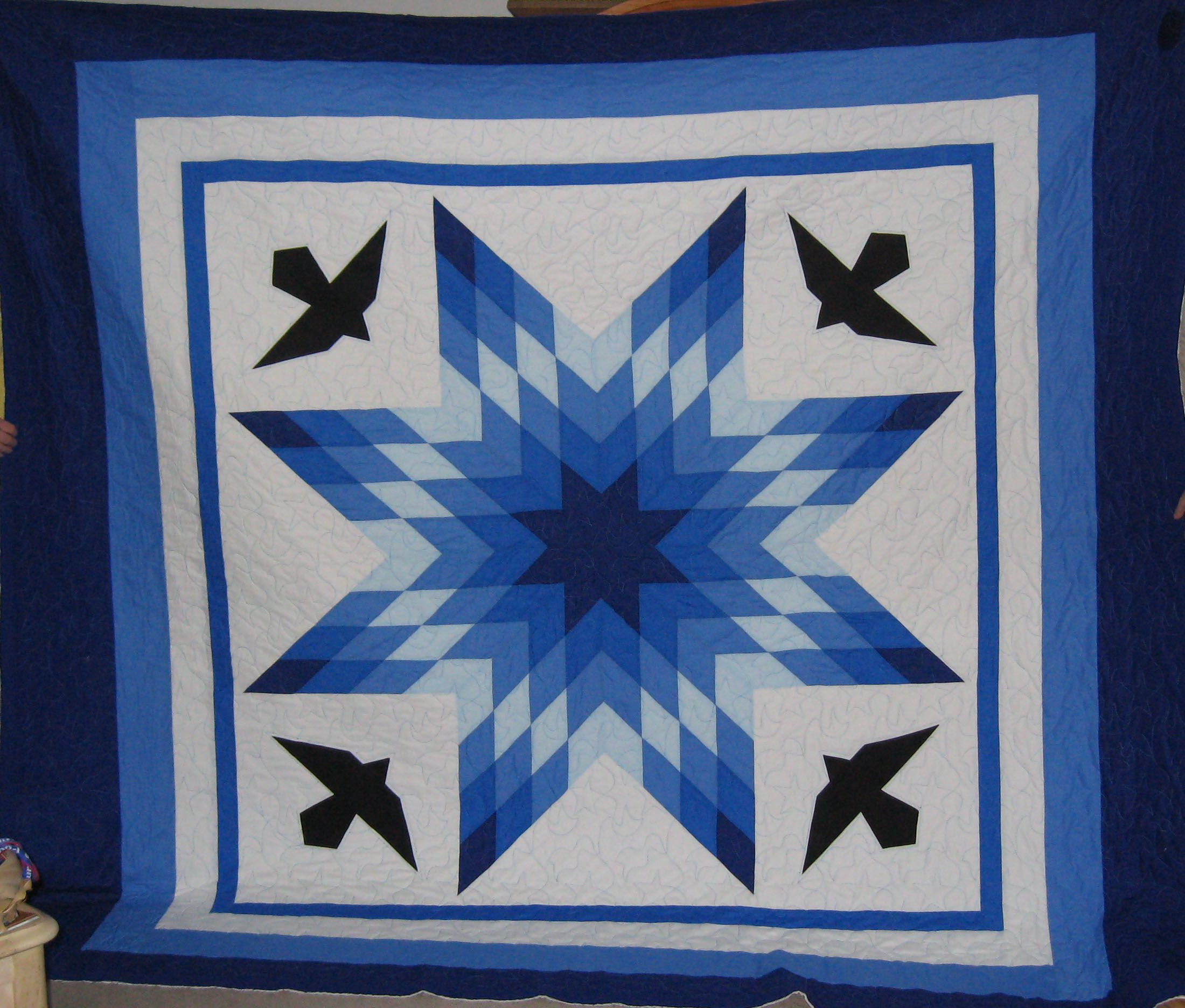 Made By Diane S Native American Star Quilts Diane Hill