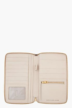 MARC BY MARC JACOBS vivid coral combo Sophisticato Travel Wallet
