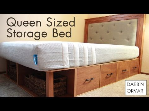 How To Make A Modular Queen Storage Bed Diy Storage Bed Queen