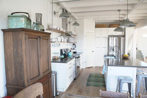 Industrial Farmhouse Kitchen this is a pretty cool house built in the farmhouse industrial
