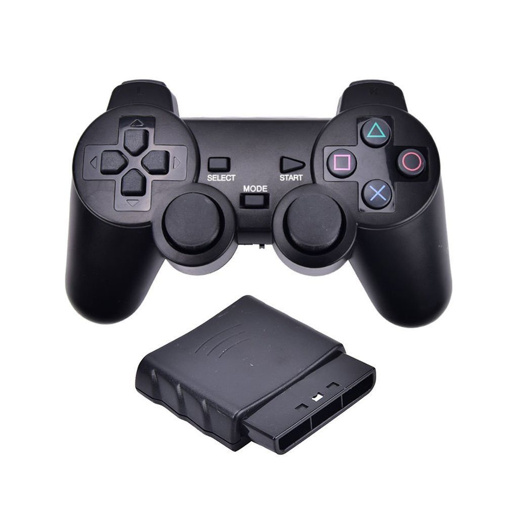 Wireless 2 4G USB Game Controller Joystick for SONY PS2 PS3 PC