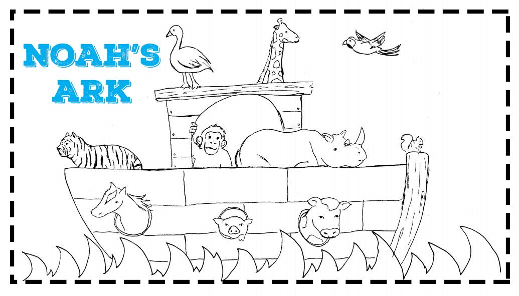 Noah S Ark Bible Coloring Pages Noah S Ark Bible The Story Of