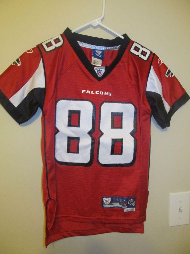 Tony Gonzalez - Atlanta Falcons Authentic jersey - Reebok youth Small   Reebok  AtlantaFalcons 3a44b763c