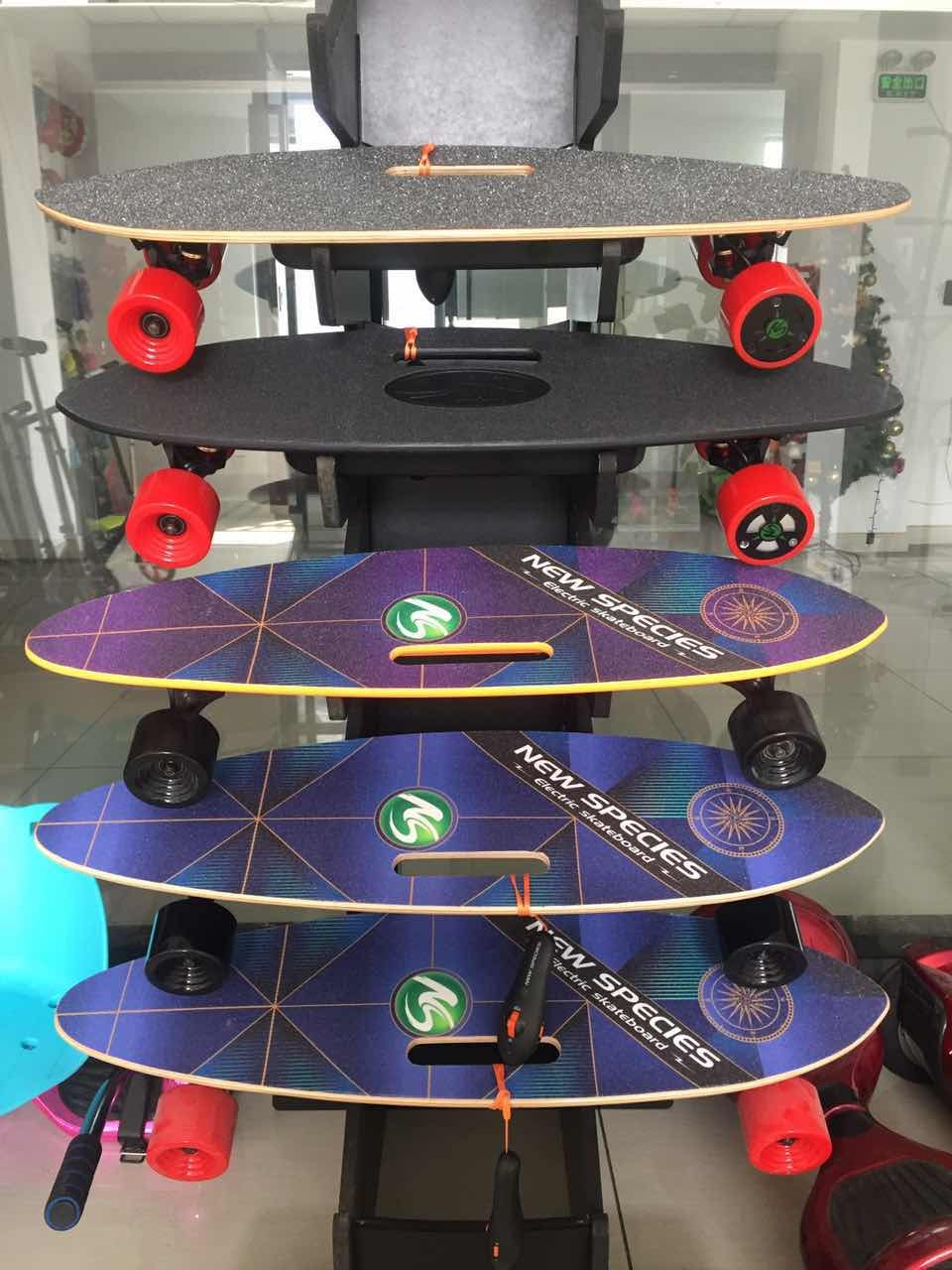 Fish electric skateboards