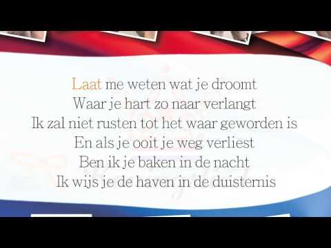 The intended song for Willem Alexander. It could have been