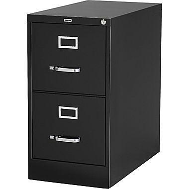 2 Drawer Vertical File Cabinet Locking Letter Black 25 D 25157d Filing Cabinet Home Office Furniture Drawers