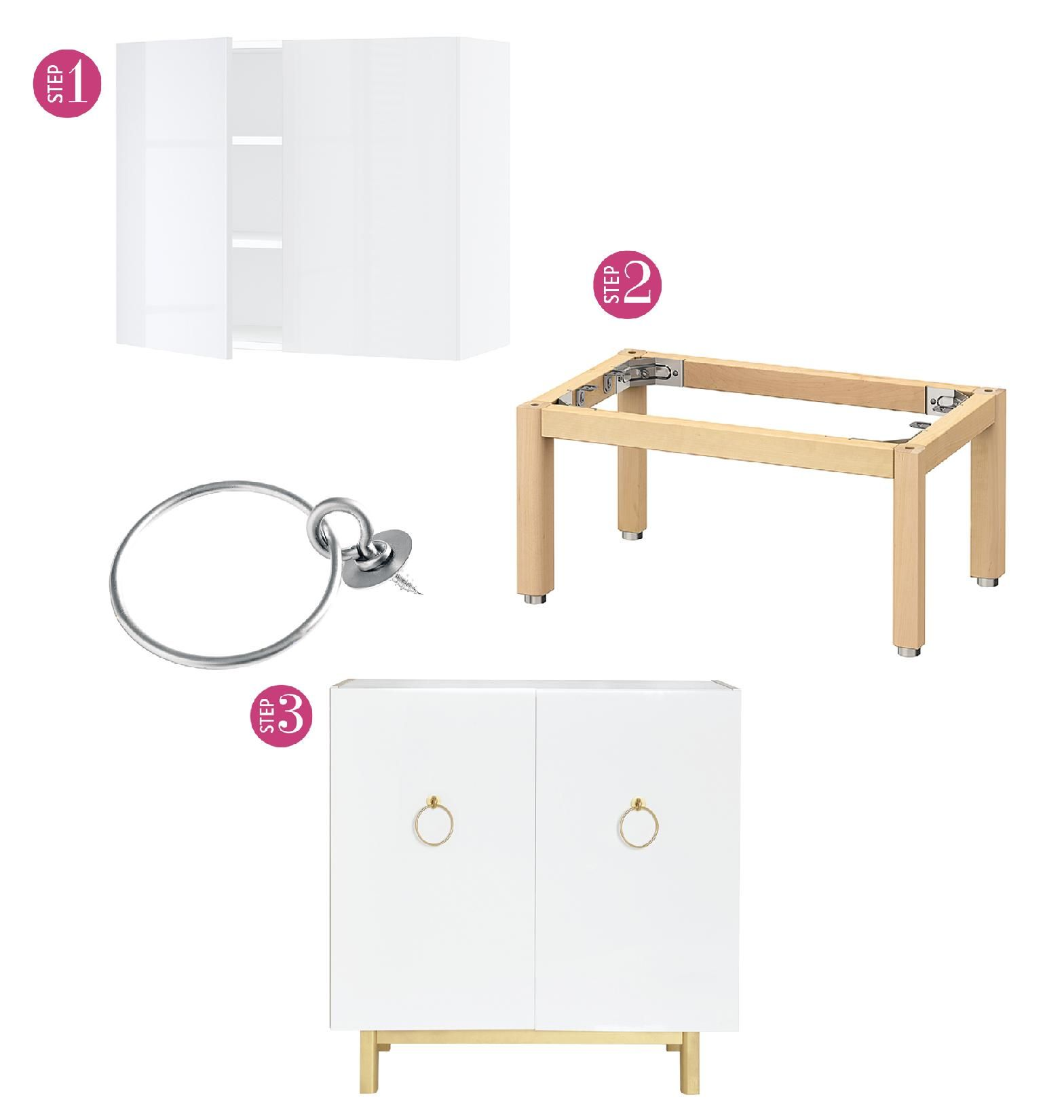 Put your DIY skills to the test with these simple and stylish IKEA furniture transformations.