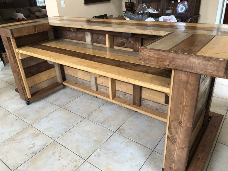 All Wood Thomas Maggie 3' x 8' X 3' 2level Etsy in 2020