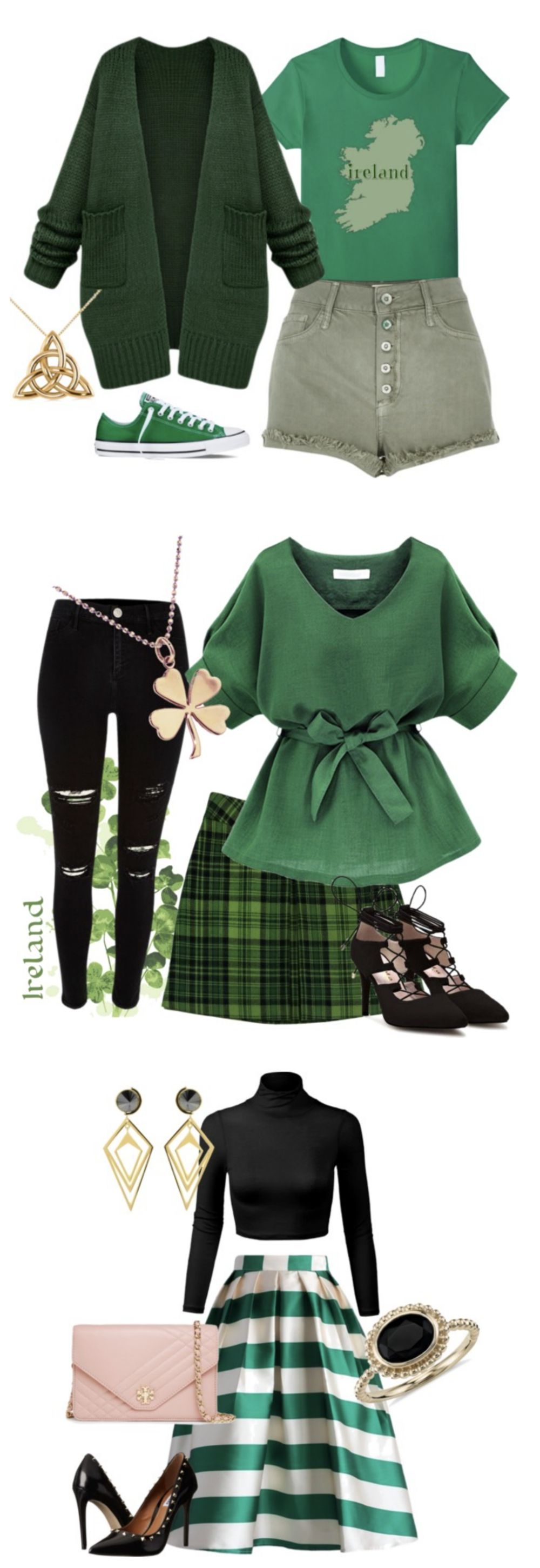 e447f8e0 What to Wear on St. Paddy's Day - easy to wear St. Patrick's Day Outfits