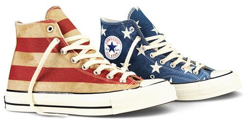 5e25b529576d Limited edition Converse Chuck Taylor All Star 70s Vintage Flag ...