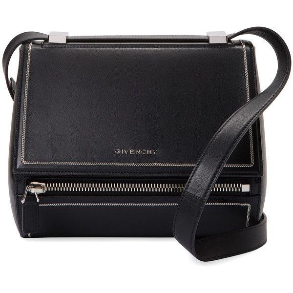 b52834153f0a Givenchy Women s Pandora Box Medium Leather Crossbody - Black (122