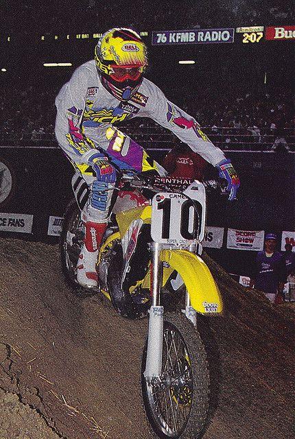 Larry Ward Motocross Ward Supercross