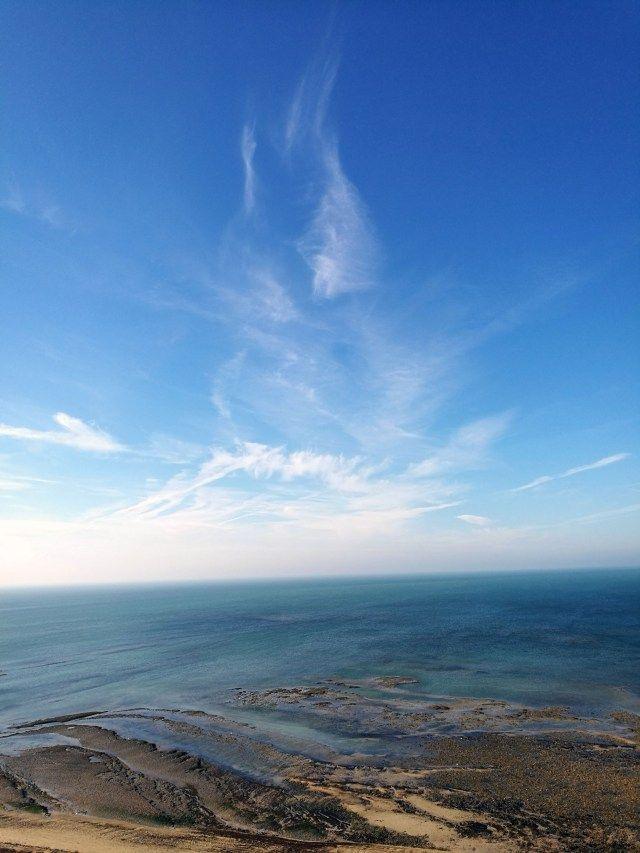 Vue sur l'Océan depuis le Phare des Baleines - City Guide France - Infini-T Blog Bordeaux