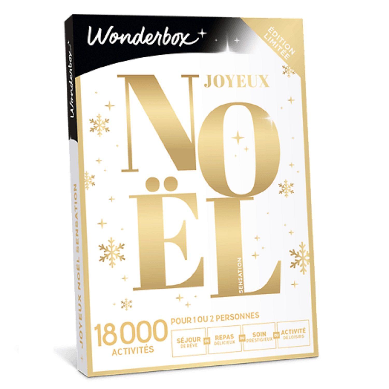 Wonderbox Joyeux Noël sensation : le coffret cadeau à Prix