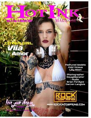 Tattoo & Ink: Hot Ink - March 2017