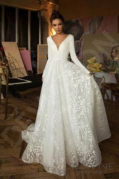 Photo of Individual size A-line silhouette Bonna wedding dress. Elegant style by DevotionDresses