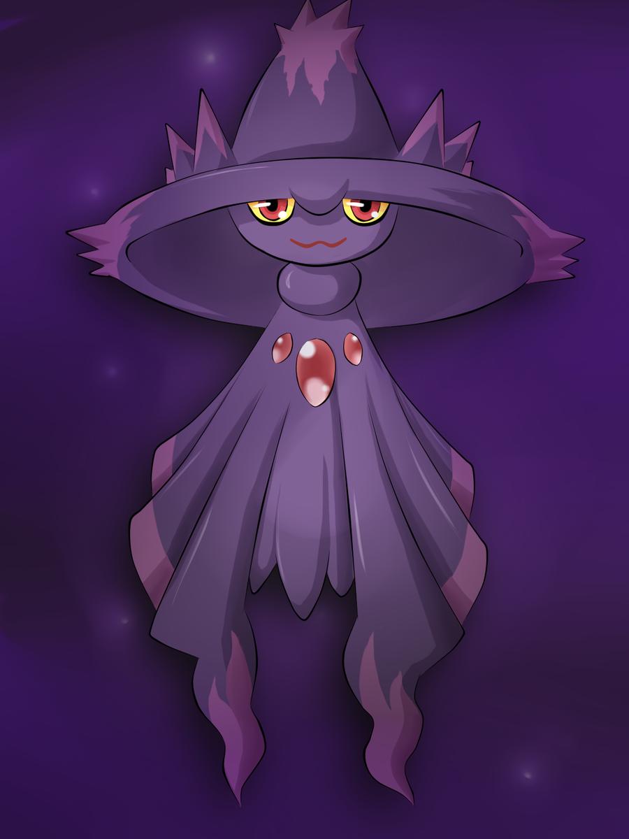 Mismagius.   Pokémon   Ghost pokemon, Pokemon fan, Pokemon