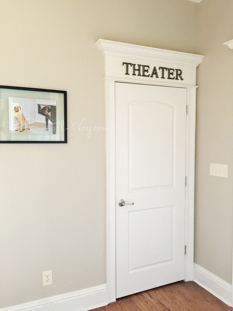 DIY Home Theater | Projects to try | Pinterest | Door letters, Men ...