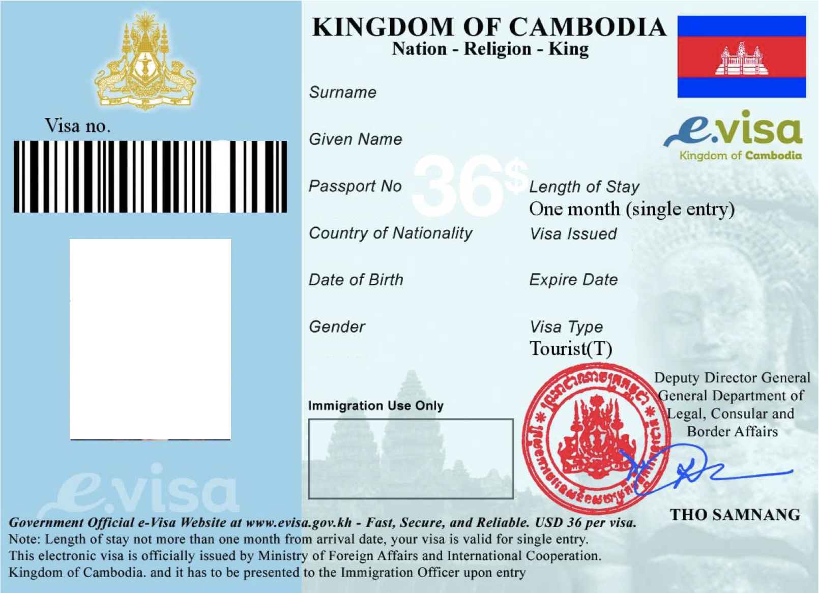 Get your Cambodia eVisa easy and fast! | Visas | Cambodia