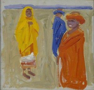 Nandi-heimoa, 1909