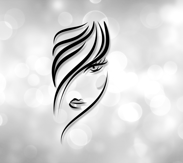 Logo Design For Hair Salon Graphicdesign Branding Girlygeekchic