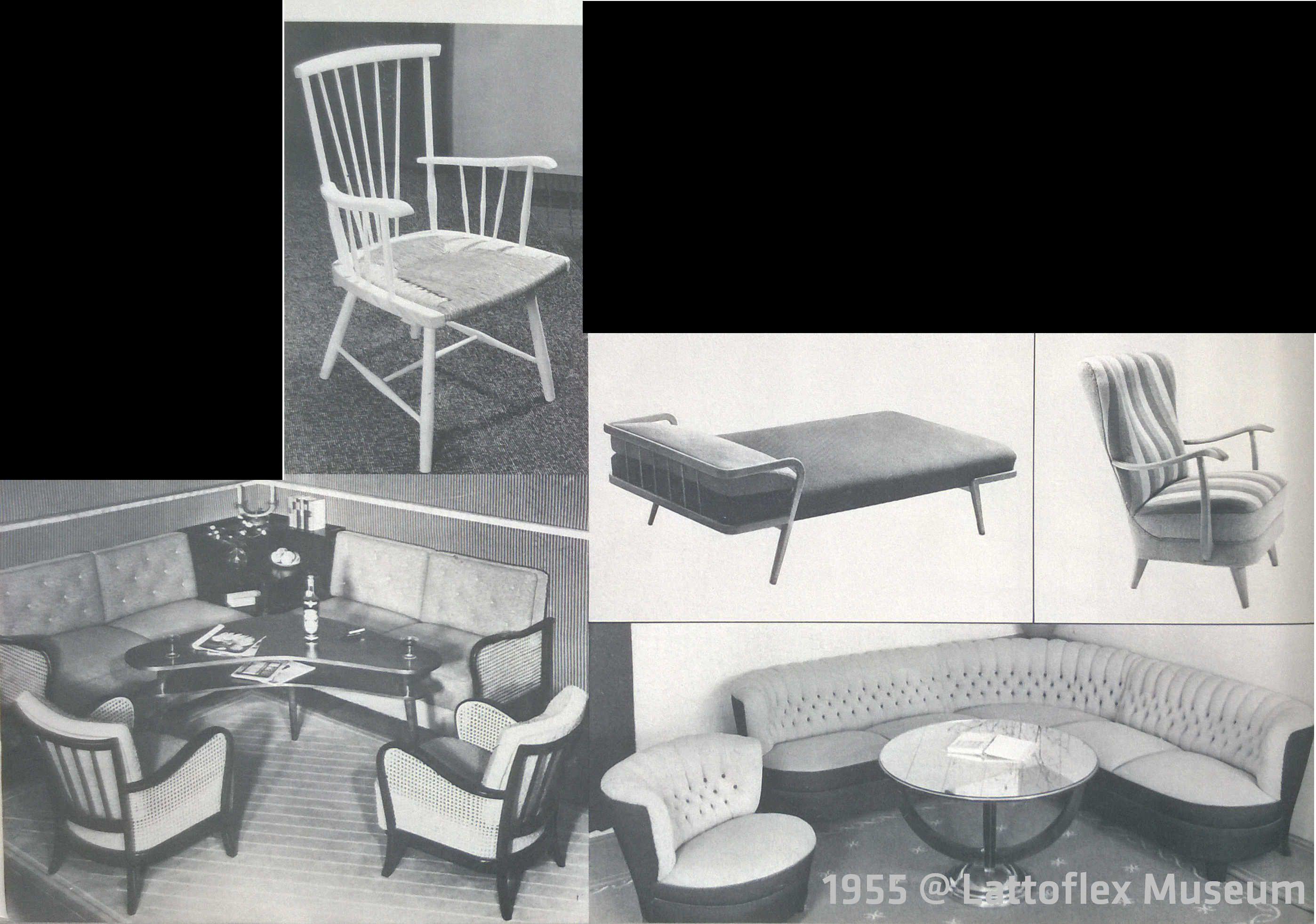 Liegemöbel 1950 1960 sitz und liegemöbel beginnen eine rolle zu spielen