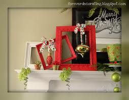 whimsical christmas mantle decorations - Google Search