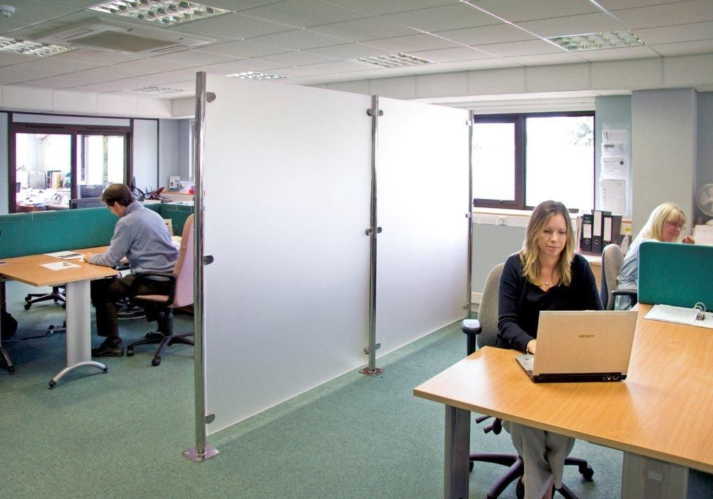 12 appealing acrylic room dividers digital picture ideas for Office space pics
