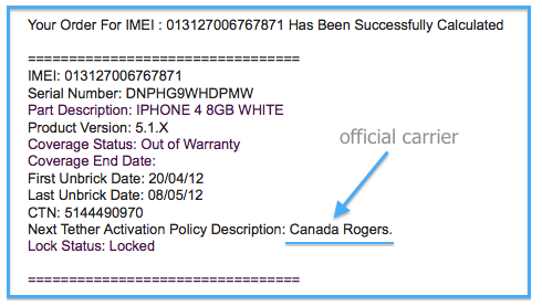 Check iPhone Carrier and Check iPhone Lock status by IMEI | Official