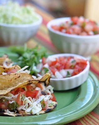 Healthy, easy Chicken Tacos #recipe