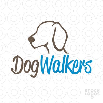 Logo Maker Premium Logos For Sale Brandcrowd Pet Care Logo Dog Walker Dog Logo