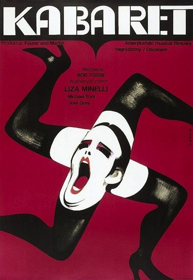 Cabaret | 45 Amazing Vintage Polish Posters Of Classic American Films Artist: Wiktor Gorka Year: 1973