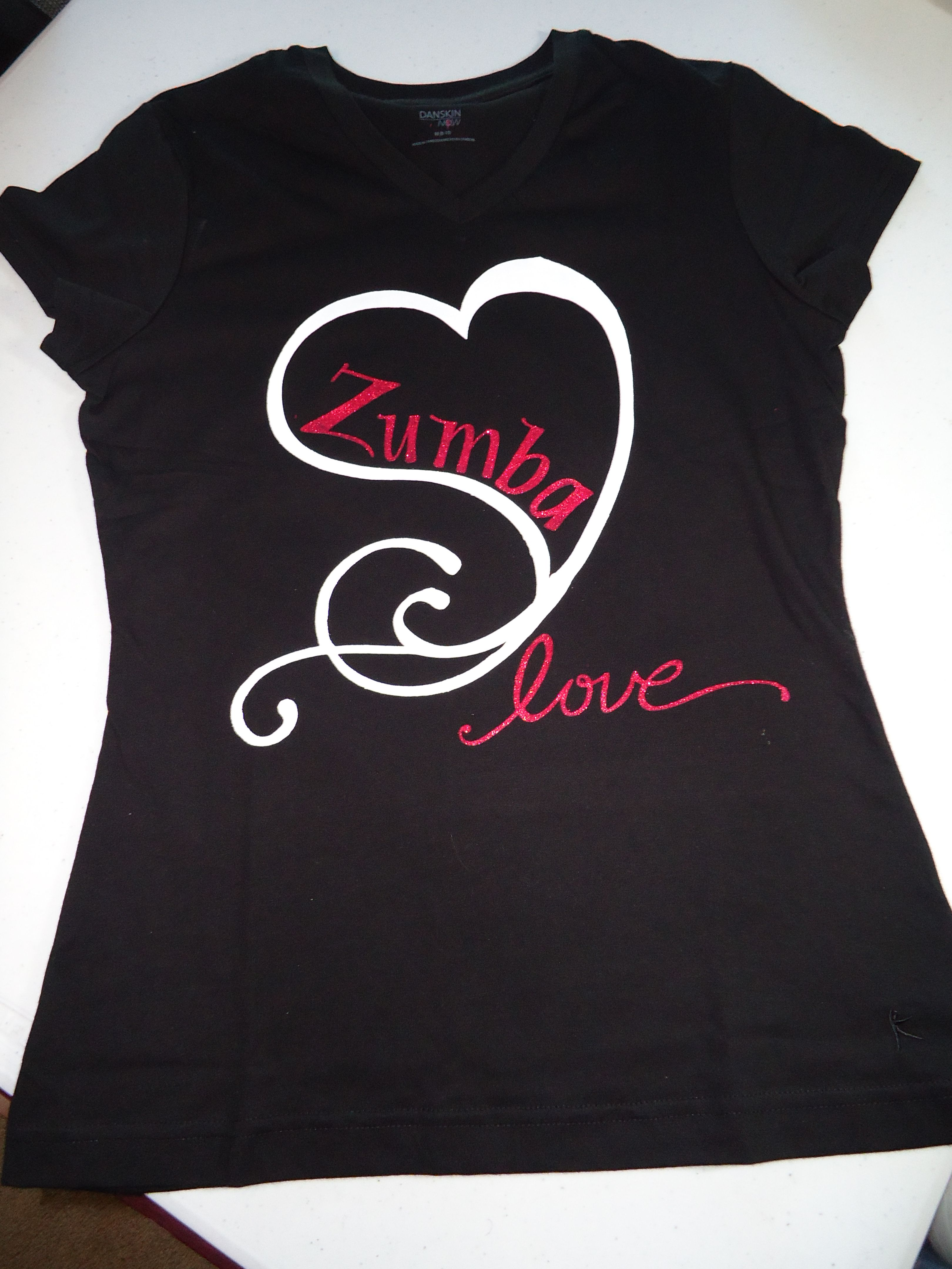 T-shirt design for zumba - Zumba Shirt Front