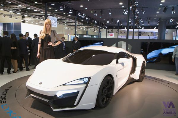 Lyken Hypersport At The 2013 Qatar Motor Show Automobiles