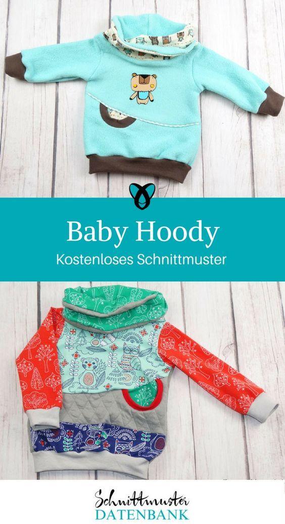 Baby Hoody Noch keine Bewertung. | Nähen fürs Baby, Baby nähen und ...