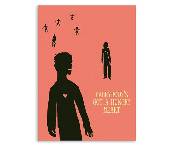 Zombie Valentine Card Hungry Heartmusic themed scary card to